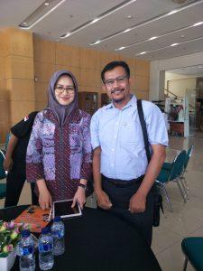 Bersama Ibu Wali Kota Tangerang Selatan